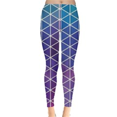 Neon Templates And Backgrounds Leggings
