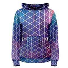 Neon Templates And Backgrounds Women s Pullover Hoodie