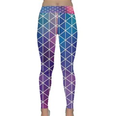 Neon Templates And Backgrounds Classic Yoga Leggings