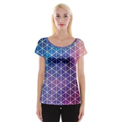 Neon Templates And Backgrounds Women s Cap Sleeve Top