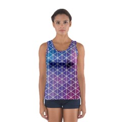 Neon Templates And Backgrounds Women s Sport Tank Top