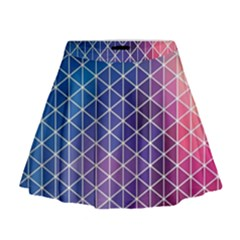 Neon Templates And Backgrounds Mini Flare Skirt