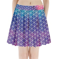 Neon Templates And Backgrounds Pleated Mini Skirt