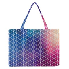 Neon Templates And Backgrounds Medium Zipper Tote Bag