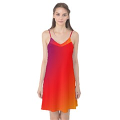 Rainbow Background Camis Nightgown