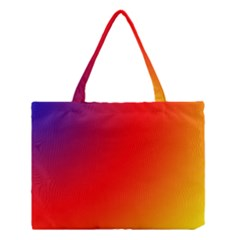 Rainbow Background Medium Tote Bag