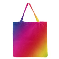 Rainbow Colors Grocery Tote Bag
