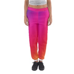 Rainbow Colors Women s Jogger Sweatpants