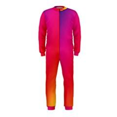 Rainbow Colors Onepiece Jumpsuit (kids)