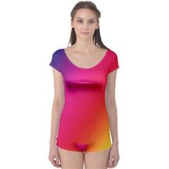 Rainbow Colors Boyleg Leotard