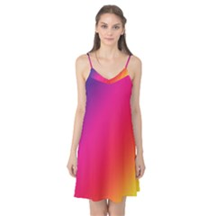 Rainbow Colors Camis Nightgown