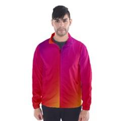 Rainbow Colors Wind Breaker (men)