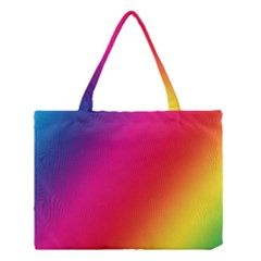 Rainbow Colors Medium Tote Bag