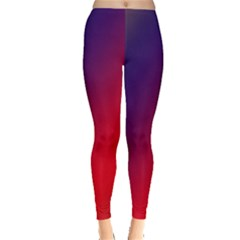 Rainbow Two Background Leggings