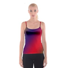 Rainbow Two Background Spaghetti Strap Top