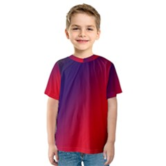 Rainbow Two Background Kids  Sport Mesh Tee