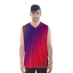 Rainbow Two Background Men s Basketball Tank Top