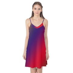 Rainbow Two Background Camis Nightgown