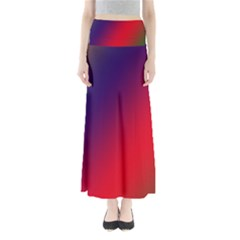 Rainbow Two Background Maxi Skirts