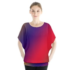 Rainbow Two Background Blouse