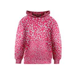 Template Deep Fluorescent Pink Kids  Pullover Hoodie