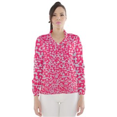 Template Deep Fluorescent Pink Wind Breaker (women)