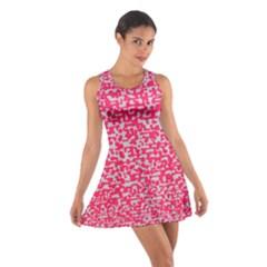 Template Deep Fluorescent Pink Cotton Racerback Dress
