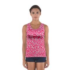 Template Deep Fluorescent Pink Women s Sport Tank Top