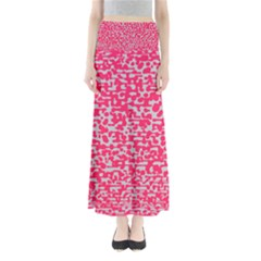 Template Deep Fluorescent Pink Maxi Skirts