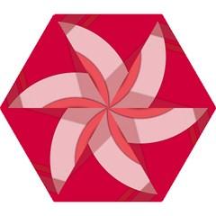 Red Material Design Mini Folding Umbrellas