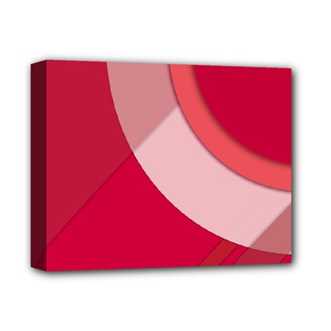 Red Material Design Deluxe Canvas 14  X 11