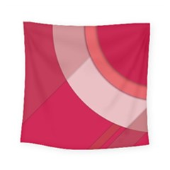 Red Material Design Square Tapestry (small)