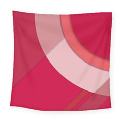Red Material Design Square Tapestry (large)