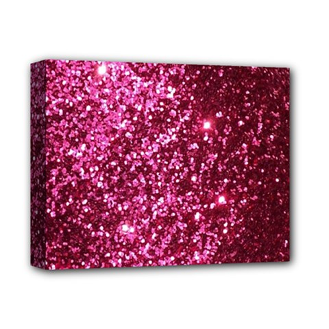 Pink Glitter Deluxe Canvas 14  X 11