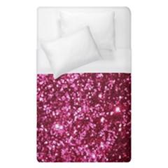 Pink Glitter Duvet Cover (single Size)