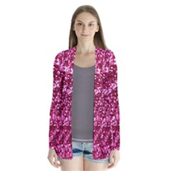 Pink Glitter Cardigans