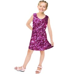 Pink Glitter Kids  Tunic Dress