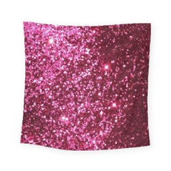 Pink Glitter Square Tapestry (small)