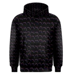 Smooth Color Pattern Men s Pullover Hoodie