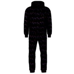 Smooth Color Pattern Hooded Jumpsuit (men)