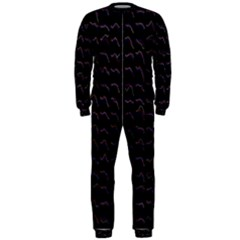 Smooth Color Pattern Onepiece Jumpsuit (men)