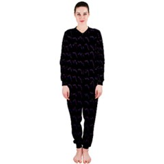 Smooth Color Pattern Onepiece Jumpsuit (ladies)