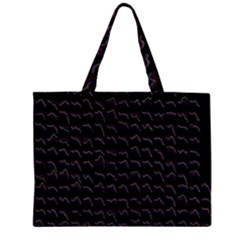 Smooth Color Pattern Large Tote Bag