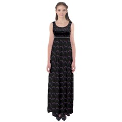 Smooth Color Pattern Empire Waist Maxi Dress
