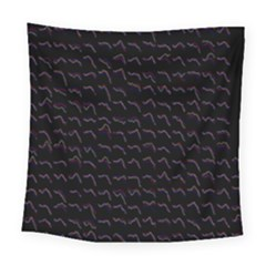 Smooth Color Pattern Square Tapestry (large)