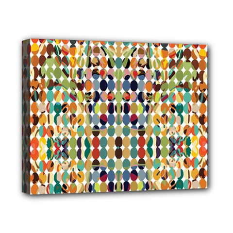 Retro Pattern Abstract Canvas 10  X 8