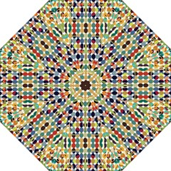 Retro Pattern Abstract Straight Umbrellas