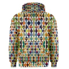 Retro Pattern Abstract Men s Pullover Hoodie