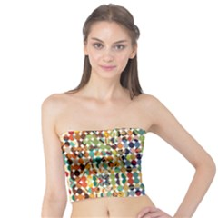 Retro Pattern Abstract Tube Top