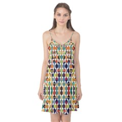 Retro Pattern Abstract Camis Nightgown